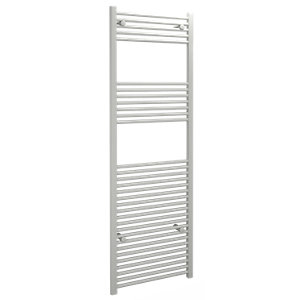 Straight White Towel Rail 1800mm x 600mm