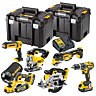 DeWalt 18V XR Compact Wood Working 6 Piece Kit DCK665P3T