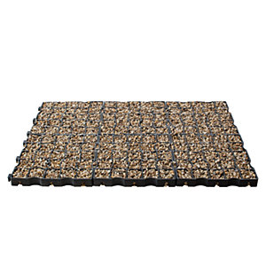 Marshalls Permeable Drivegrid System Pack with Golden Aggregate 40mm