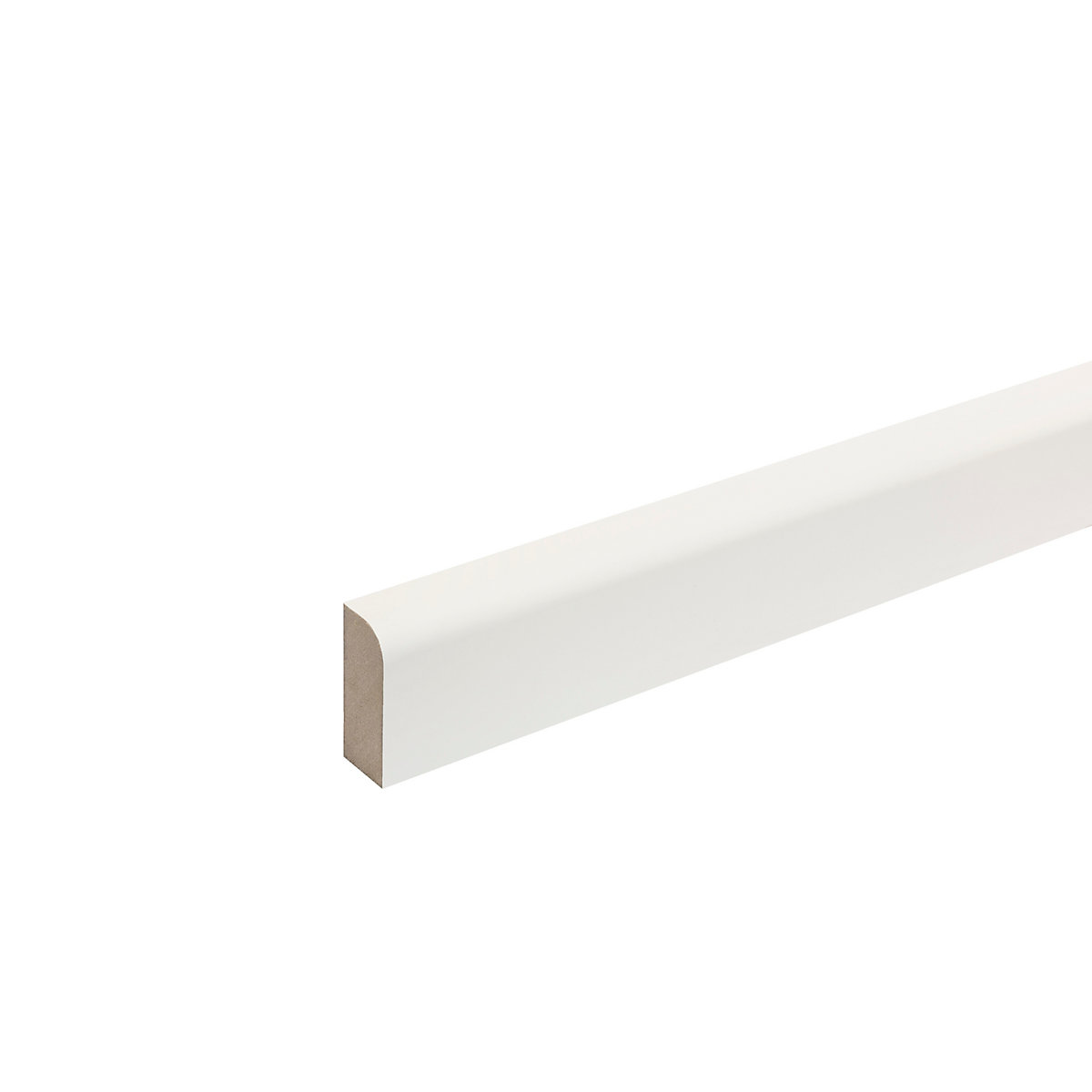 MDF Moulded & Primed Pencil Round Architrave 18mm x 69mm x 2 4m