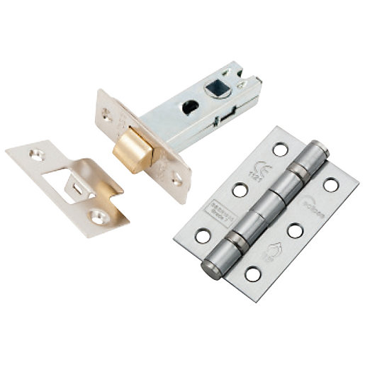 Eclipse Latch Pack Satin Nickel