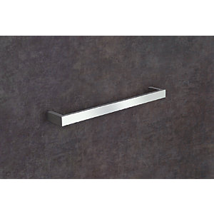 Towelrads Square Elcot Rail Closed Ended Chrome Towel Rail 40mm x 450mm