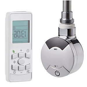 Towelrads Smart Timed Thermostatic Element Including Remote 300W 435mm x 60mm