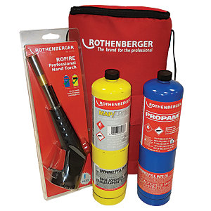 Rothenberger Hot Bag Includes Rofire Torch