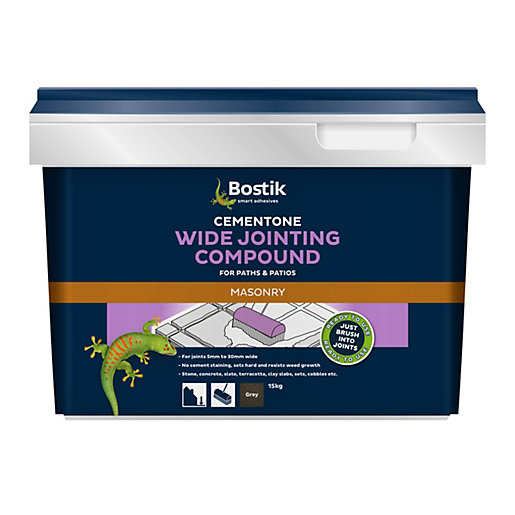 Cementone Wide Jointing Compound Grey 15kg