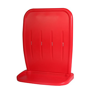Moulded 2 Double Stand Red (HS25/RED)
