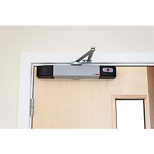 Agrippa Acoustic Battery Operated Door Closer - Silver (AGDCS1)