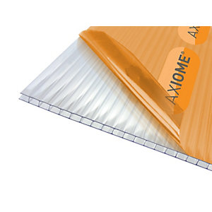 Axiome Clear 4mm Twinwall Polycarbonate Sheet 2100mm