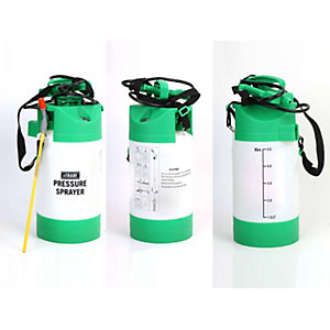 4Trade 5L Pressure Sprayer with Mannometer