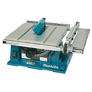 Makita 240V 1650W Table Saw and Stand 2704X/2