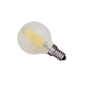 Casell LED Dimmable Filament Golf Ball Bulb 4W Small Screw in             Cap