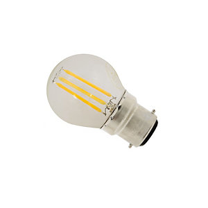 Casell LED Dimmable Filament Golf Ball Bulb 4W BC Cap