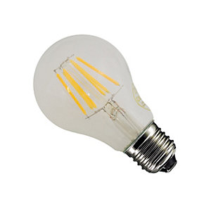 Casell LED Dimmable Classic Shape Gls Bulb 8W Screw in             Cap