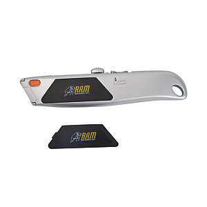 Ram Retractable Trimming Knife Reload Action RAM0049