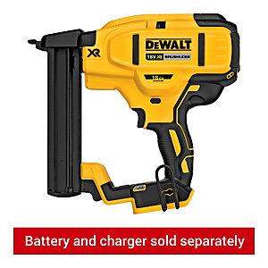 DeWalt 18V Xr Brushless 18gA Narrow Crown Stapler Body Only DCN681N-XJ
