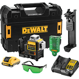 DeWalt Multi Line Laser Green with 2AH 10.8V Battery DCE089D1G-GB