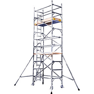 Alloy Tower 3T Single Width 0.85 x 1.8m