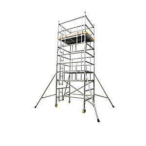 Alloy Tower AGR Single Width 0.85 x 1.8m