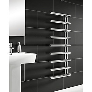 iflo Socorro Designer Towel Radiator Chrome 500mm