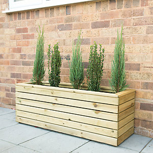 Forest Garden Linear Long Planter 120 x 40