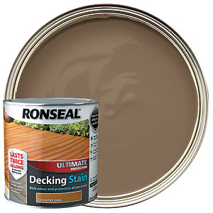 Ronseal Ultimate Protection Decking Stain - Country Oak 2.5L