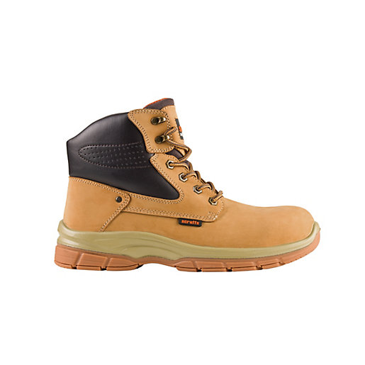 Scruffs Hatton Safety Boot - Tan Size 10