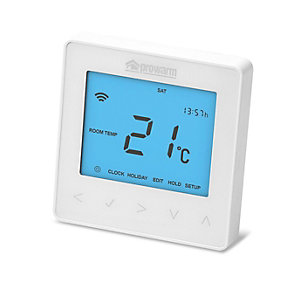 Prowarm Protouch™ Iq Arctic White Smart Thermostat
