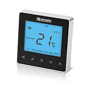 Prowarm Protouch™ Iq Midnight Black Smart Thermostat