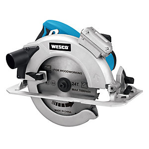 Wesco 185mm Circular Saw