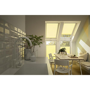 VELUX Pleated Blind White 1140 x 1178mm