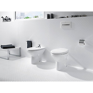 Roca Laura Back-to-wall Pan with Seat