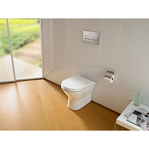 Roca Nexo Back-to-wall Pan with Seat