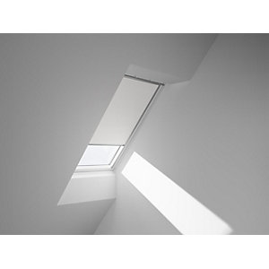 VELUX Duo Blackout Blinds White 1140 x 1178mm