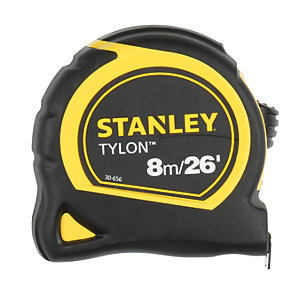 Stanley Tylon 8m  x 25mm Tape Measure Carded