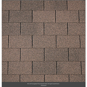 Iko Armourglass Square Butt Shingles 2m2 Brown 07
