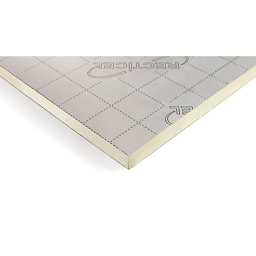 Recticel Eurothane Eurodeck Insulation Board 1200 x 2400 x 130mm