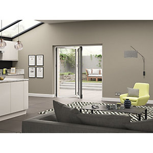 Aluminium External White Right Opening Bifold Door Set 1790mm wide