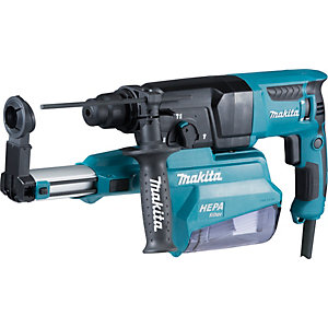 Makita 240V Rotary Hammer 3-MODE SDS+ with Built in                           Dust Collection HR2650/2