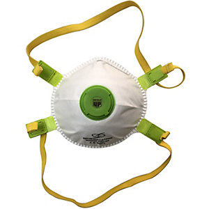 Armour Up FFP2 Moulded Cup Respirator with Valve (5 Pack)
