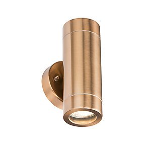 WALL2LC Up & Down Wall Light - Copper