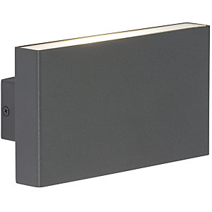 WSM16A 2 x 8W Up/Down LED Wall Light - Anthracite