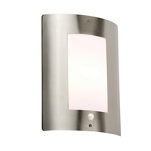 NH027S Stainless Steel Outdoor Wall Fixture with PIR