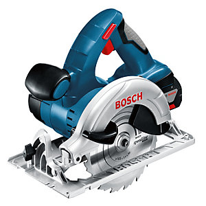 Bosch GKS 18V-LI 18V Circular Saw with 2 x 5.0Ah Batteries and Charger (L-BOXX)