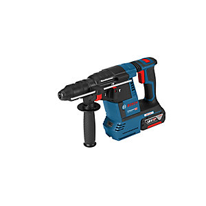 Bosch GBH 18V-26 F 18V Brushless SDS Rotary Hammer Drill with 2 x 6.0Ah Batteries