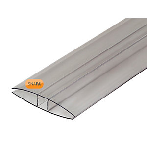 Snapa 16mm Polycarbonate H Section 4m