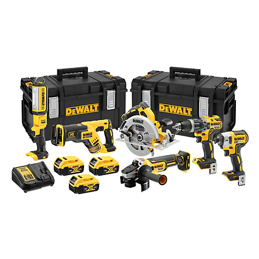 DeWalt 18V Xr Brushless Compact 6 Piece Kit DCK623P3-GB