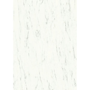 Quick Step Luxury Vinyl Ambient Marble Carrara White Flooring 4.5mm 2.080m2/PK AMCL40136