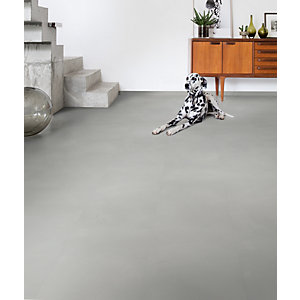 Quick Step Luxury Vinyl Ambient Minimal Light Grey Flooring 4.5mm 2.080m2/PK AMCL40139