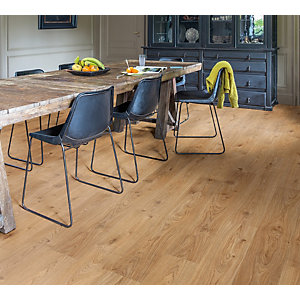 Quick Step Luxury Vinyl Balance Cottage Oak Natural Flooring 4.5mm 2.105m2/PK BACL40025