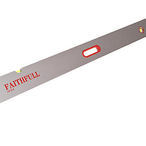 Faithfull Screeding Level 2.4m (8ft) 3 Vial & Grips FAISL8